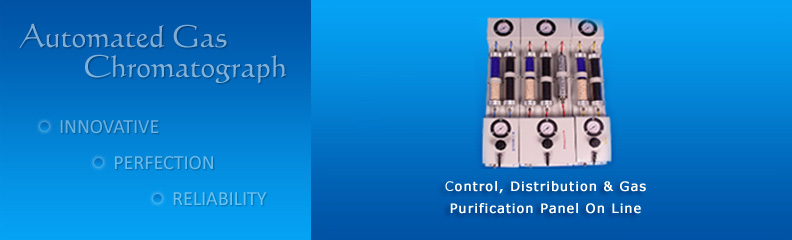 Control,Distribution & Gas Purification Panel On Line